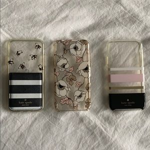 3 Kate Spade iPhone X cases